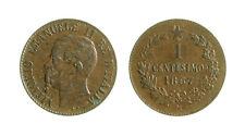 s495_3) Vittorio Emanuele II (1861-1878) 1 Centesimo 1867 M