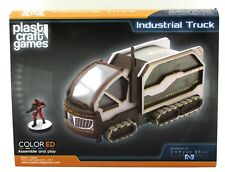 Plast Craft Games INF062 Industrial Truck (ColorED) Infinity Terrain Scenery NIB