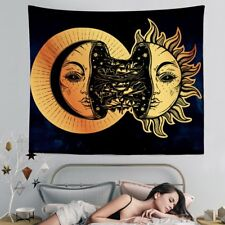 Crescent Moon Tapestry Wall Hanging Tapestry Home Room Bedspread Decoration