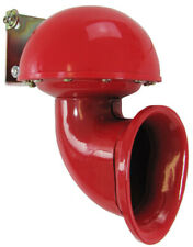 Bull Horn Fanfare Hupe Nebelhorn Sound rot 12 Volt