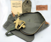 5PC M1 CARBINE MANUAL CASE SLING OILER BUTT STOCK AMMO POUCH BOYT 43 M1 RIFLE