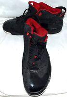Air Jordan 311046-061 Dub Zero 2009 Black Varsity Red White Mens Shoes Size 13