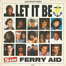 FERRY AID (Kate Bush, FGTH, paul mccartney, Kim wilde...) Let It Be (1987 [vinyle]