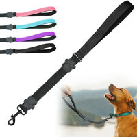 "20"" Short Close Control Dog Leash Traffic Training Leads Padded Cushion Webbing"