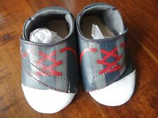 Stride Rite Crib Crawl Tiny Sports Star Navy Baby Infant Shoes 6-12 months NEW