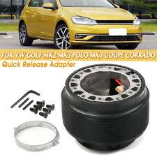 Universal Steering Wheel Hub Adapter Quick Release Boss Set For VW GOLF MK2 MK3