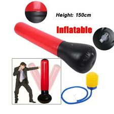 Free Standing Inflatable Punching Bag Boxing Training Pump Fitness Tower Toy New
