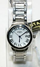 Authentic Rotary Women's Savannah Quartz Stainless Watch SILVER LB02524/01 NEW!