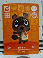 212 Timmy official Nintendo Switch Animal Crossing amiibo card ACNH