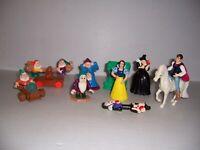 Lot of 1990s McDonald's Happy Meal Disney Snow White & The Seven Dwarfs Toys