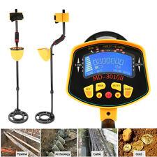 Metal Detector Locator Deep Target Treasure Coins Power Hunt Waterproof Coil UM