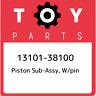 13101-38100 Toyota Piston sub-assy, w/pin 1310138100, New Genuine OEM Part