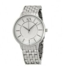 NEW ARMANI EXCHANGE OLIVIA SILVER TONE,STAINLESS STEEL WATCH-AX5306