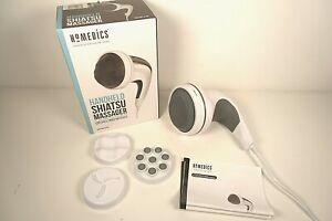 HoMedics Handheld Rotating Shiatsu Massager  - Complete with 3 Heads