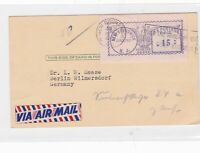 u.s new brunswick 1950 meter mail stamps card  ref 10141