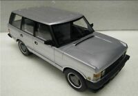 LUCKY STEP 001B or 001C RANGE ROVER SERIES 1 model car silver blue 1986 1:18
