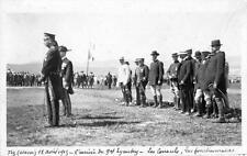 CPA MAROC FEZ 12AVRIL 1915 VERITABLE CARTE PHOTO L'ARRIVEE DU GENERAL LYAUTEY LE