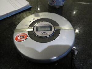 Sony D-EJ100 Silver CD Walkman Compact Disc Player