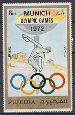 Fujeira 1972 ** Mi.882 A Olympische Spiele Olympic Games Diskuswerfer