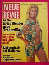 NEUE REVUE 1968 Nr. 23: Krieg in Vietnam / Liebesurlaub auf Mallorca / Mende
