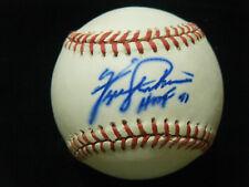 Vintage Fergie Jenkins HOF 91 Chicago Cubs autographed NL White baseball
