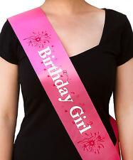Birthday Girl Schärpe - Geburtstag Geburtstagsfeier