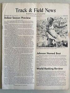 1960 Track and Field News December      Rafer Johnson, Al Lawrence, Puma ad