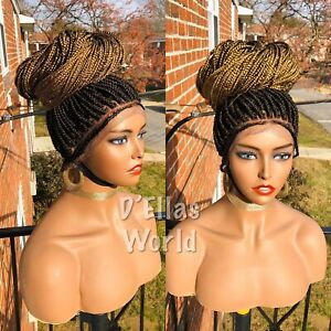 Ombre Box Braids Wig