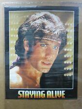 Vintage Poster Staying alive movie Travolta movie 1983 Inv#G4532