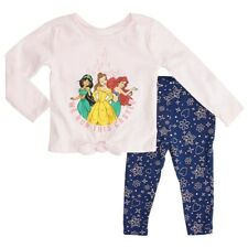Disney Baby Girls Disney Princess Top with Leggings Set - Sz 18 mos