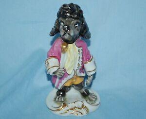 Unter Weiss Bach Black Poodle figure U9929/1 - Cavalier - Excellent condition