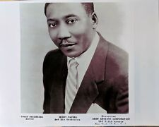 CHICAGO BLUES PUBLICITY PHOTO (1950s): MUDDY WATERS 8-1/2 x 11 repro