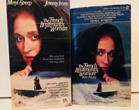 The French Lieutenant's Woman 1981 film (VHS and Movie Tie-In Paperback)