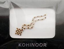 Bindi bijoux piel boda frente strass cristal de Swarovski Ámbar ING C 3673