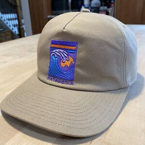 Patagonia Viewfinder Stand Up Hat - Excellent - Mojave Khaki - Spring 2017
