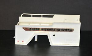 Vintage Marx Big Bruiser Super Highway Service Tow Truck Wrecker Parts Body