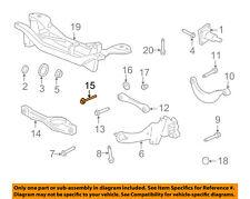 FORD OEM 08-11 Focus Rear Suspension-Lower Control Arm Adjust Bolt 6S4Z5K978AA