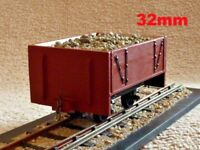 WOODEN PLANKED, SM32, GARDEN RAILWAY, 16MM/ FOOT, 1:19TH SCALE, NARROW GAUGE,RTR