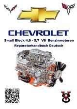 Chevrolet / GMC / Chevy 4,9-5,7 SmallBlock Rep-Anleitung Deutsch incl. Getriebe