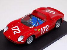 1/18 Ferrari 250P 1963 Targa Florio Scarfiotti - Mairesse car #172
