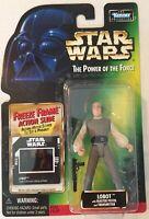 Star Wars LOBOT POTF Power Of The Force FREEZE FRAME CARD 1998 Lando Calrissian