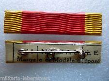 Agrafe Rappel Barrette Dixmude Médaille Ordre du DRAGON d'ANNAM Original épingle