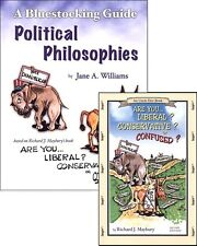Bluestocking - Are You Liberal? Conservative? Confused? SET (Book and Guide)