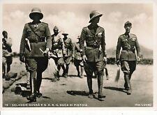 A5608) WW ETIOPIA, SELASSIE' GUGSA' E S. A. R. IL DUCA DI PISTOIA.