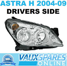 VAUXHALL ASTRA H NEW CHROME HEADLIGHT HEADLAMP DRIVERS OFF SIDE SXI SRI CDTI VAN