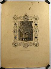 Lithographie de Arnout, Notre Dame de Lorette, Paris