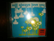 Disco CD Sarah Washington / I Will Always Love You - Dance Mix(3 Mixes) Almighty