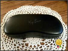 RAY-BAN CLAM SHELL SUNGLASSES GLASSES BLACK HARD CASE Fast Shipping