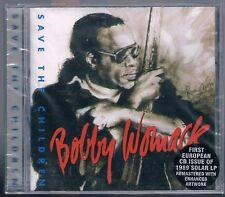 BOBBY WOMACK SAVE THE CHILDREN  CD  F.C. SIGILLATO!!!