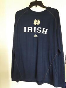 Notre Dame Fighting Irish Adidas Big Gamer Long Sleeve Tee XL